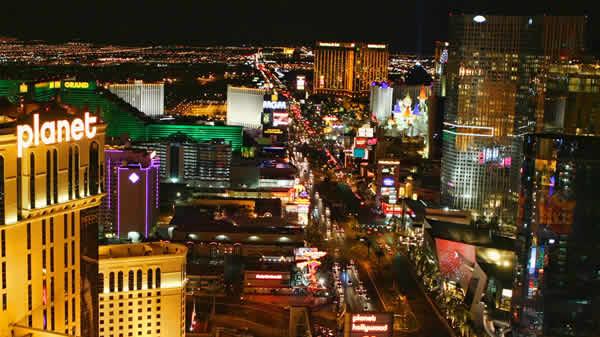 Las Vegas Nevada at Night